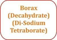 Borax (Decahydrate) (Di-Sodium Tetraborate)