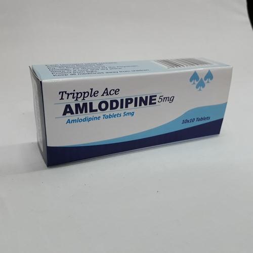 Trippleace Amlodipine-5 (Amlodipine Tablets 5 Mg )