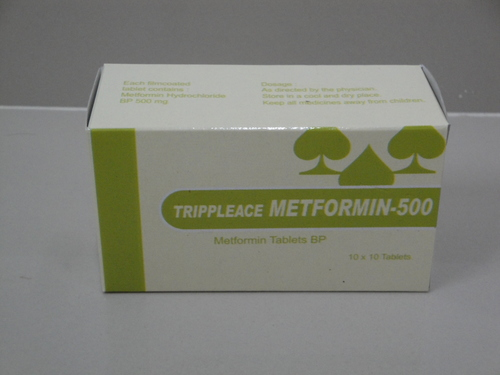 Trippleace Metformin- 500 (Metformin tablets BP)