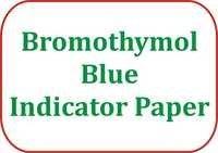 Bromothymol Blue Indicator Paper