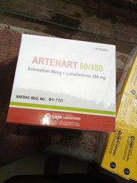 ARTETRINE  (Artemether & Lumefantrine tablets)