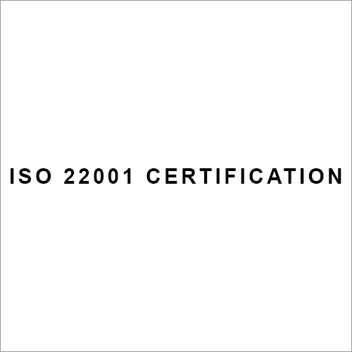 ISO 22001 Certification