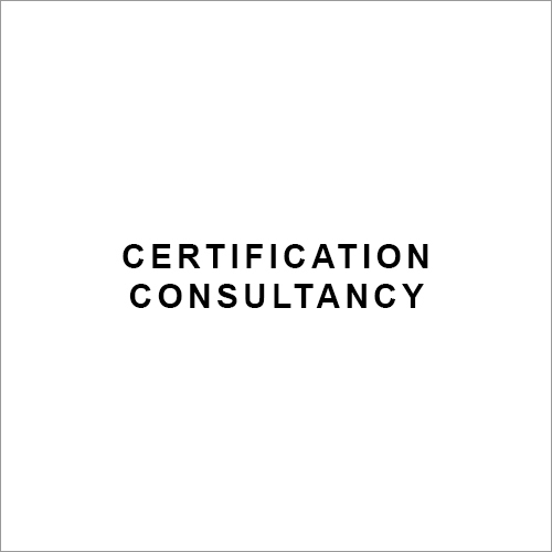 Certification Consultancy