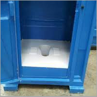 Indian Style Portable Toilet Cabin