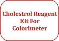 Cholestrol Reagent Kit For Colorimeter