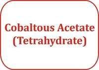 Cobaltous Acetate (Tetrahydrate)