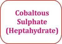 Cobaltous Sulphate (Heptahydrate)