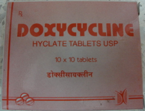 Dispersible Doxycycline Tablets Bp 100 Mg