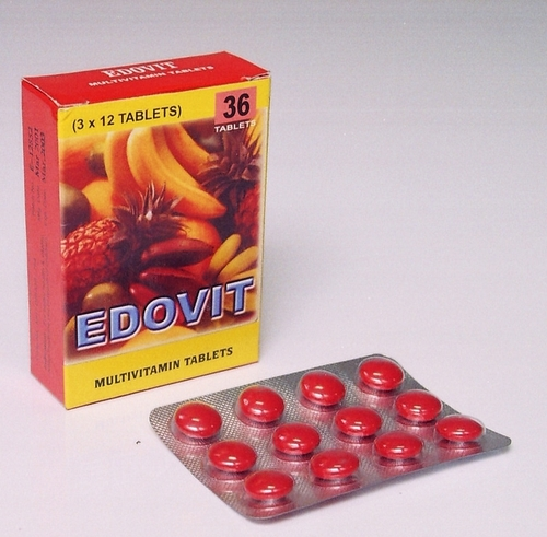 Edovit Tablets  (Multivitamin Tablets )