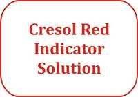 Cresol Red Indicator Solution