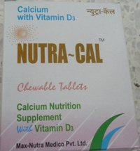 Nutra - Cal (Calcium & Cholecalciferol Tablets BP)