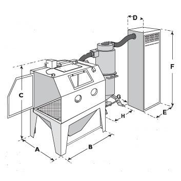 Micro Blasting Machine
