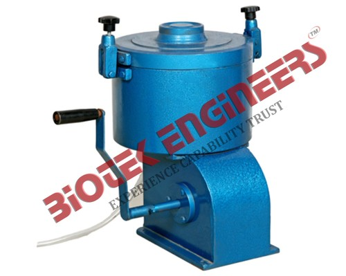 Centrifuge Extractor - Hand Operated
