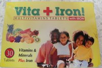 Vita + Iron Tablets/Syrups (Multivitamin Tablets )