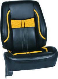 Bucket Art Leather Car Seat Cover
