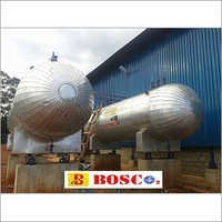 16 KL CO2 Storage Tank with Load Cell