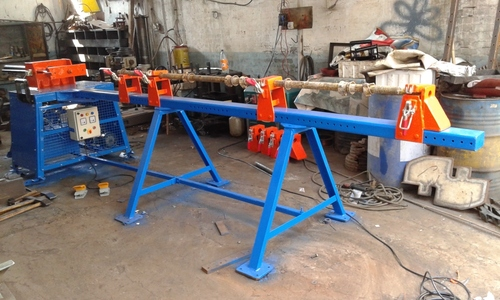 Scaffolding Dent Removing Machine
