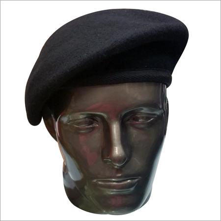 Beret Cap Black