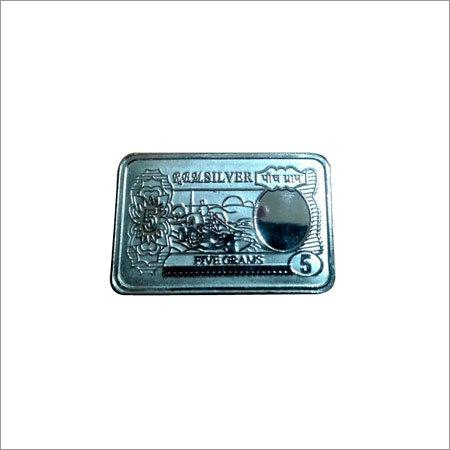 Silver Square Coin