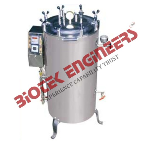 Double Wall Vertical Autoclave