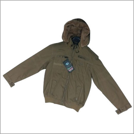 Hooded Men Jacket