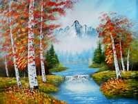 GLORIES AUTUM Mural