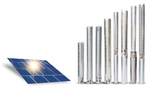 Solar Submersible Pump set