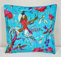 Antique Kantha Decorative Cushion Cover