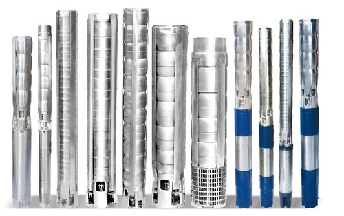 StainlessSteel V5 to V12 Borewell Submersible Pump