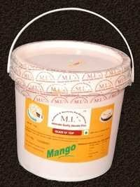 Mango cake decorative jelly