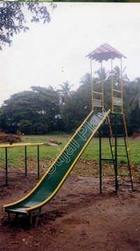 Plain Slide - FRP Canopy