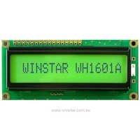 16x1 Character LCD Module
