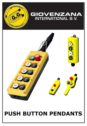 Push Button Pendants
