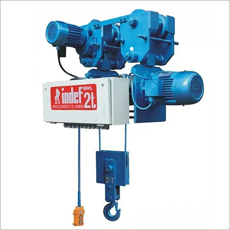 Wire Rope Hoist Model WRH-NO/N