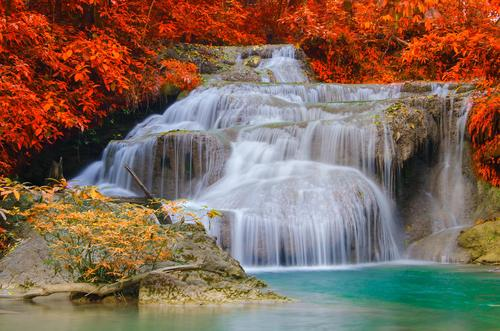 WATER FALL  SCENERY