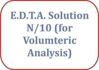 E.D.T.A.solution N/10 (for Volumteric Analysis)