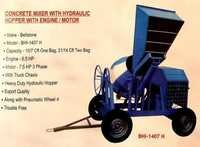 Concrete Mixer with Hydraulic Hopper With Motor