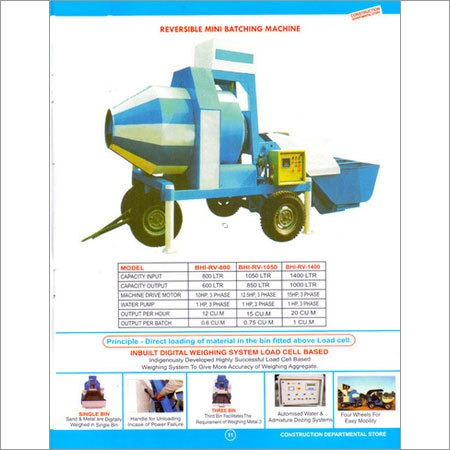 Fully Automatic Batching Plant