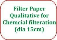 Filter Paper Qualitative for Chemcial filteration (dia 15cm)