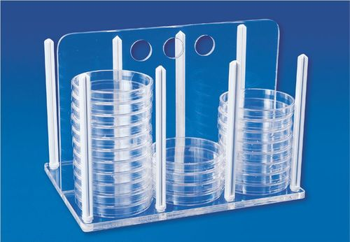 Rack-For-Petri-Dishes