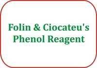 Folin & Ciocateu's Phenol Reagent