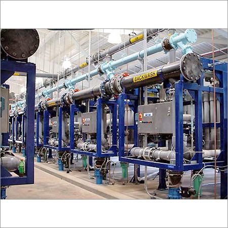 Microfiltration Water Treatment Plant