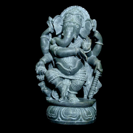Dancing Ganesha Sculptures
