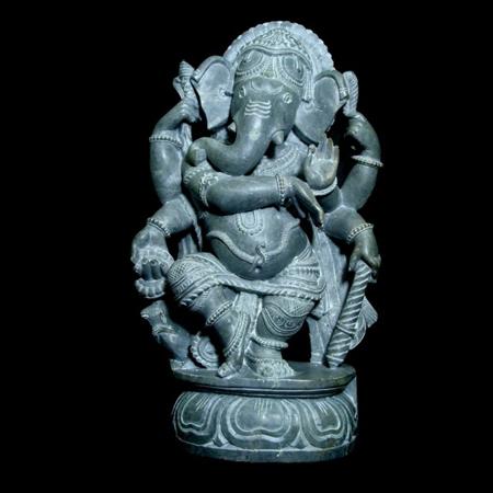 Dancing Ganesha Sculptures