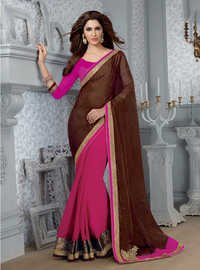 BROWN & RANI DESIGNER SAREE