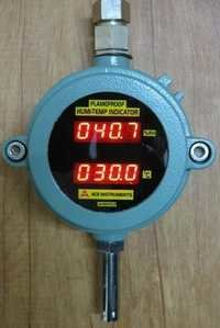 Flameproof Humidity And Temperature Indicator