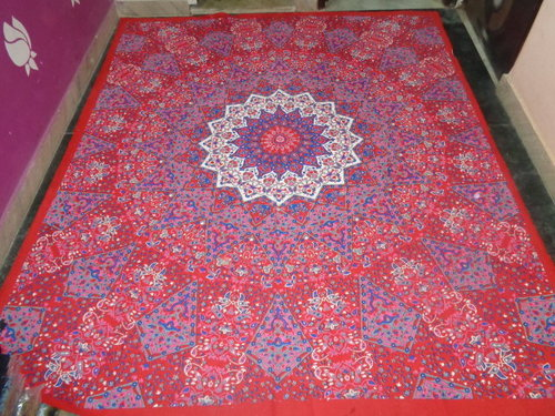 Indian Printed Tapestries Bedsheets