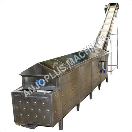 Continuous Type Steam Blancher