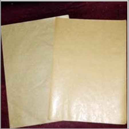 Golden Brown Bleached Paper