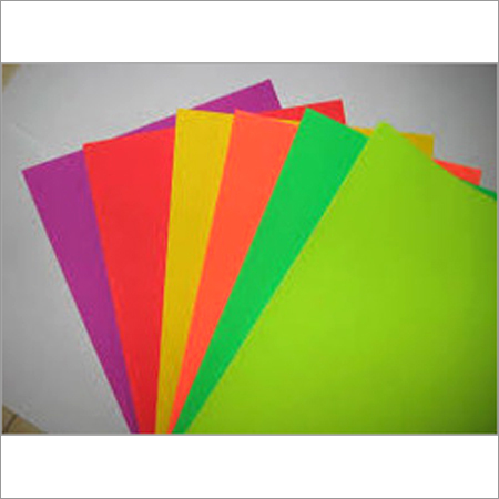 Neon Color Coated Paper